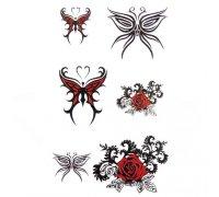 Laikina tatuiruotė Ornamentas 154