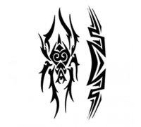Laikina tatuiruotė Ornamentas 156