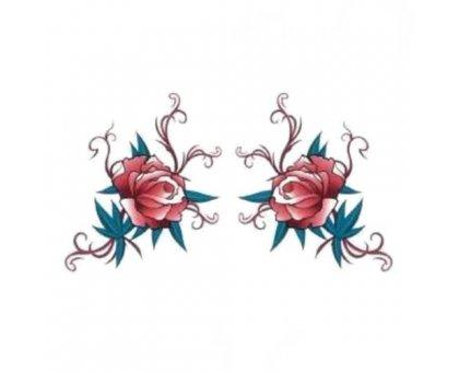Laikina tatuiruotė Ornamentas 200