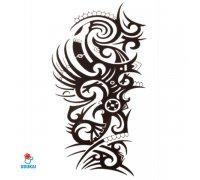 Laikina tatuiruotė Ornamentas-HB522; 21x14cm