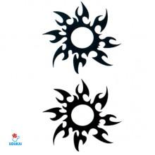 Laikina tatuiruotė Ornamentas HC054; 10x6cm