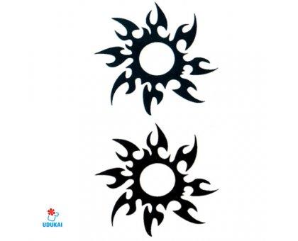 Laikina tatuiruotė Ornamentas-HC054; 10x6cm