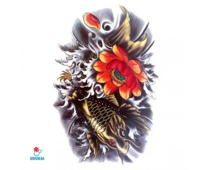 Laikina tatuiruotė Auksinis karpis-HC2003; 19x12cm