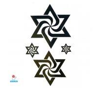 Laikina tatuiruotė Simboliai-JM015; 10x6cm