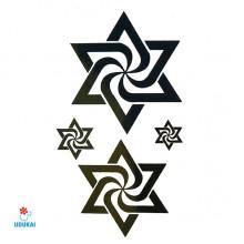 Laikina tatuiruotė Simboliai JM015; 10x6cm