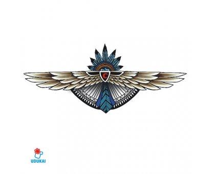 Laikina tatuiruotė Inka-BC008; 24x13cm