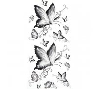 Laikina tatuiruotė Drugelis