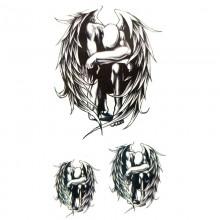Laikina tatuiruotė Angelas 81025; 10x6cm