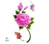 Laikina tatuiruotė Rožės-E10; 10x6cm