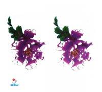 Laikina tatuiruotė Gėlės-WM205; 10x6cm