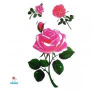 Laikina tatuiruotė Rožės-E14; 10x6cm