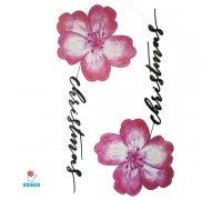 Laikina tatuiruotė Gėlės-F27; 10x6cm