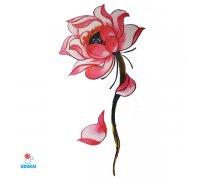 Laikina tatuiruotė Gėlė-F30; 10x6cm