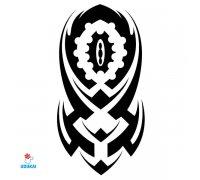 Laikina tatuiruotė Ornamentas-TBS8013; 19x12cm