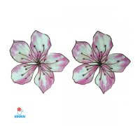 Laikina tatuiruotė Gėlės-W010; 10x6cm