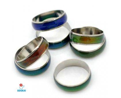 Žiedas keičiantis spalvą Nuotaikos žiedas; 16, 17, 18, 19, 20